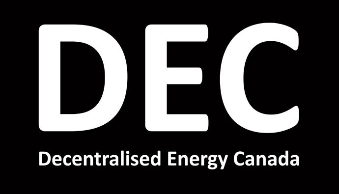 Decentralised Energy Canada logo.